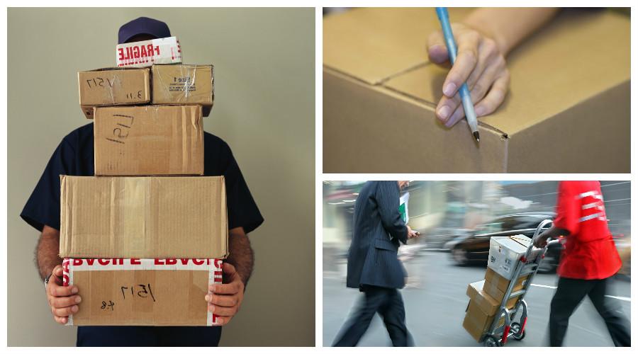 enviar un paquete