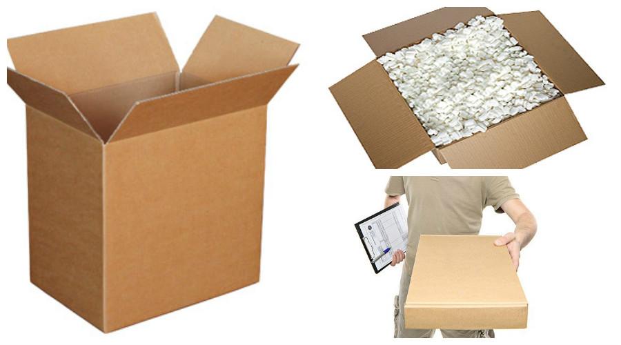 escoger el paquete de envio