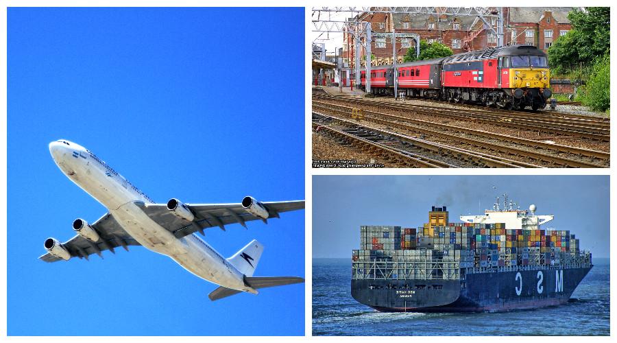 transporte en europa