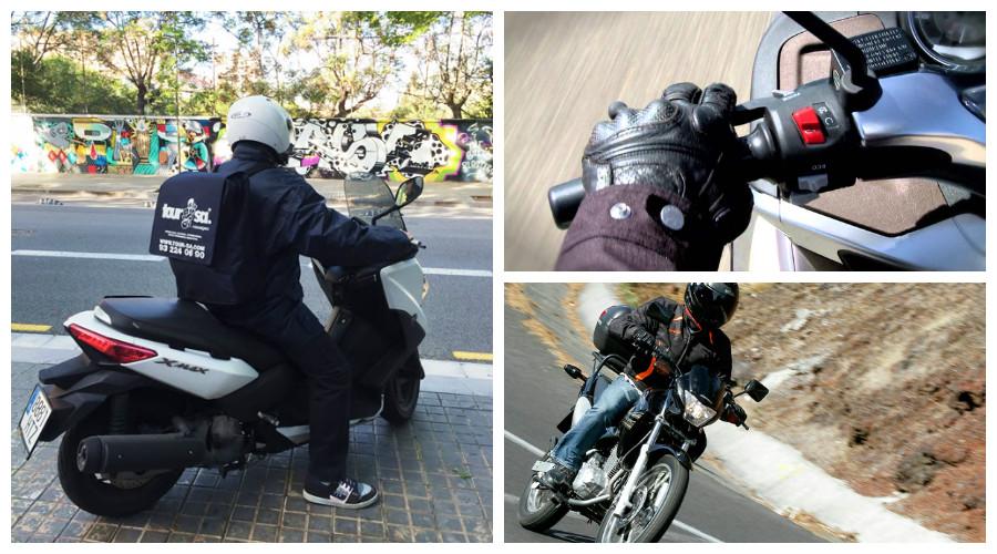 transporte en moto