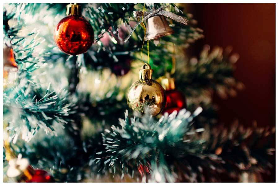 mensajería en Navidad