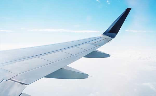 paquetería transporte aéreo