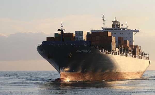 paquetería transporte marítimo